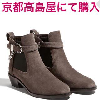 フェラガモ(Ferragamo)のフェラガモ サイドゴアブーツ ショートブーツ(ブーツ)