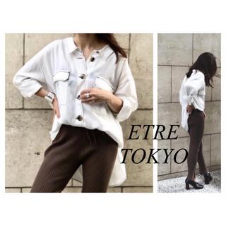 Ameri VINTAGE - ETRE TOKYO バックシャンステッチシャツ