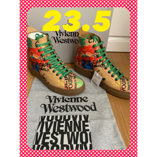 ヴィヴィアンウエストウッド(Vivienne Westwood)の❤️新品タグ付き❤️Vivienne Westwoodレデーススニーカー(スニーカー)
