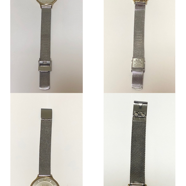SKAGEN(スカーゲン)のANITA ツートーンスチールメッシュウォッチ レディースのファッション小物(腕時計)の商品写真