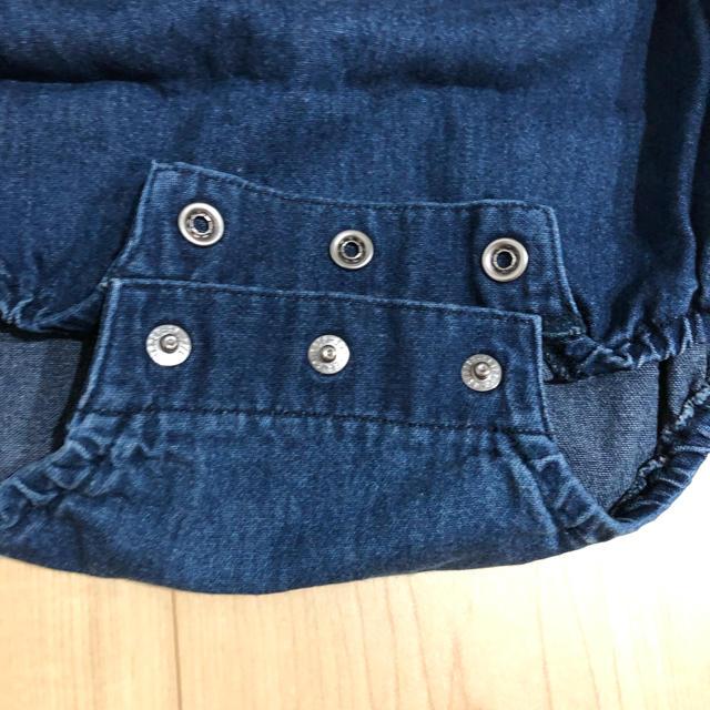 mikihouse(ミキハウス)のミキハウス だるまオール ロンパース キッズ/ベビー/マタニティのベビー服(~85cm)(ロンパース)の商品写真