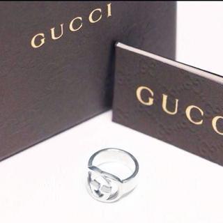 グッチ(Gucci)の☆新品☆未使用☆Gucci グッチ GGロゴモチーフリング11号(リング(指輪))