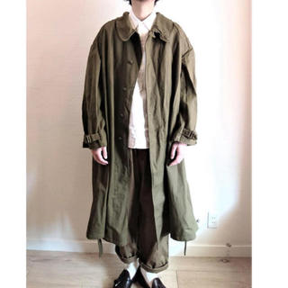 1LDK SELECT - Deadstock French Army MotorCycle Coat 6