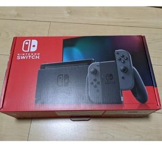 Nintendo Switch - 新型 ニンテンドースイッチ グレー 本体 中古美品 switch