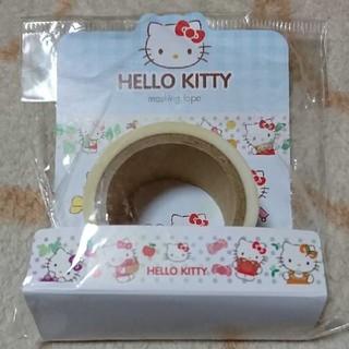 ハローキティ(ハローキティ)の【新品】ハローキティ 郵便局限定 マスキングテープ(テープ/マスキングテープ)
