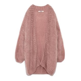 fur fur - 手編みモヘアカーディガン♥fur fur
