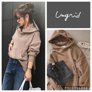 Ungrid - Ungrid**スリットワイドパーカー