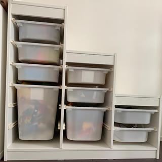 IKEA*トロファスト TROFAST*階段 収納棚