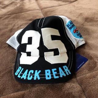 mikihouse - 新品♡ミキハウス ブラックベア  帽子 48-50 キャップ 車 男の子