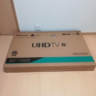 ハイセンス50インチテレビ 50/ F60E