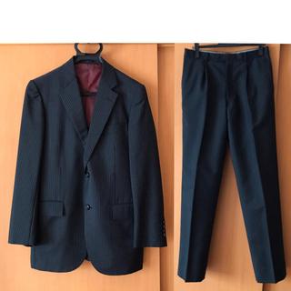 スーツ セットアップ ブラックストライプ①(セットアップ)