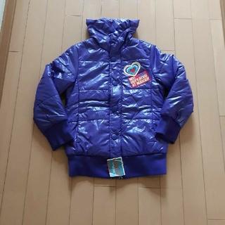 エーアーベー(eaB)の新品未使用タグ付きエーアーベーeab紫ダウンジャケット130サイズ(コート)
