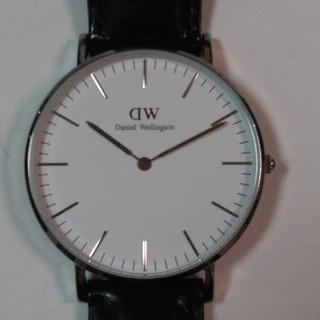 Daniel Wellington - ダニエルウェリントン36ミリ、シルバー腕時計