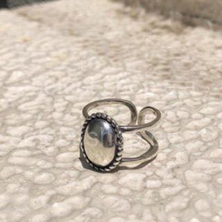 トゥデイフル(TODAYFUL)のカメオリング シルバー925(リング(指輪))