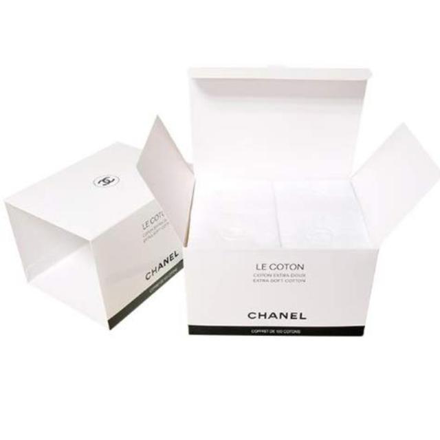 CHANEL(シャネル)の新品 シャネル コットン 2箱組 紙袋なし コスメ/美容のメイク道具/ケアグッズ(コットン)の商品写真