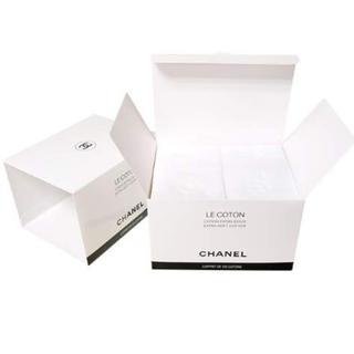 シャネル(CHANEL)の新品 シャネル コットン 2箱組 紙袋なし(コットン)