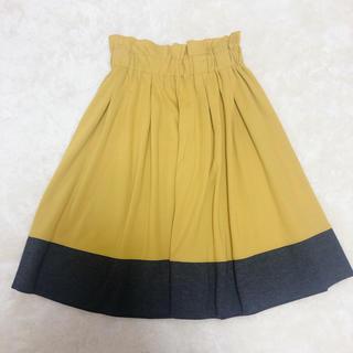 Discoat - DISCOAT ひざ丈フレアスカート