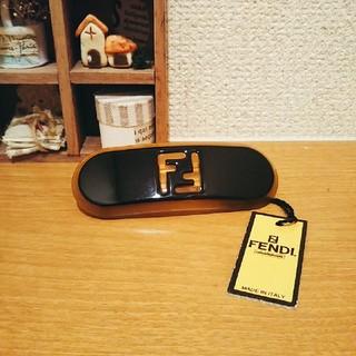 フェンディ(FENDI)の【正規品 未使用品】 FENDIフェンディ バレッタ(髪留め)(バレッタ/ヘアクリップ)