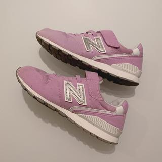 New Balance - ニューバランス 996 キッズ 21.5㎝ ラベンダー