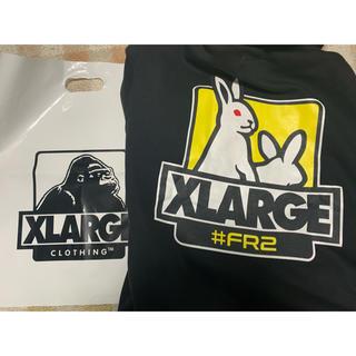 XLARGE - #FR2 x XLARGE コラボパーカーMサイズ