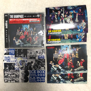 THE RAMPAGE - THE RAMPAGE✴︎CDステッカーセット③