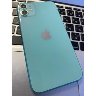 iPhone - IPHONE 11 256 GB SIMフリー (画面割れです)