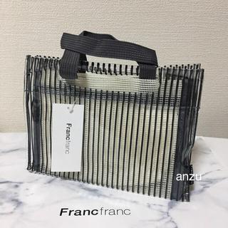 Francfranc - フランフラン  ビニールバック /サブバッグ /スパバック
