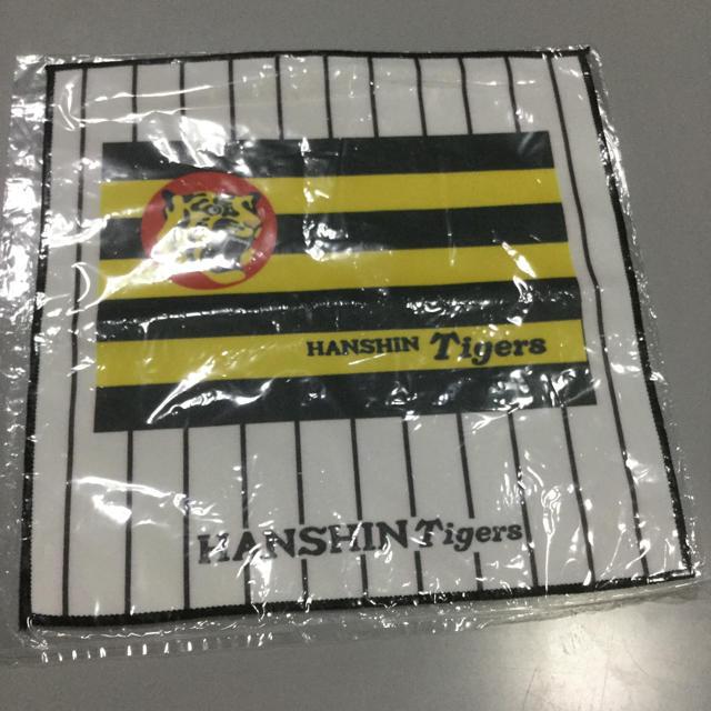 阪神タイガース(ハンシンタイガース)の阪神タイガース ミニタオル 球団旗 レディースのファッション小物(ハンカチ)の商品写真