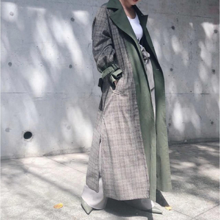 Ameri VINTAGE - REVERSIBLE TRENCH COAT