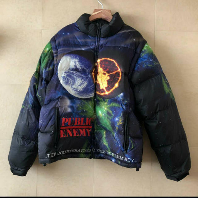 Supreme(シュプリーム)のSupremeUndercoverPublicEnemyPuffy Jacket メンズのジャケット/アウター(ダウンジャケット)の商品写真