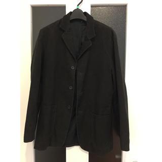ムジルシリョウヒン(MUJI (無印良品))の無印 コーデュロイ ブラウン ジャケット Mサイズ(テーラードジャケット)