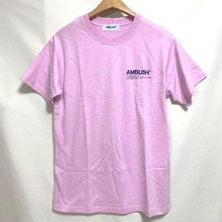 AMBUSH - AMBUSH Tシャツ pink 色