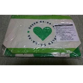 サントリー(サントリー)の【送料無料】GREEN DAKARA 親子でおでかけ トートバッグ 未開封(トートバッグ)