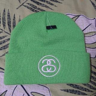 STUSSY - STUSSY(ステューシー) ニット帽ビーニー 新品