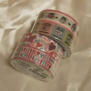 マスキングテープセット ミルク ユニコーン(テープ/マスキングテープ)