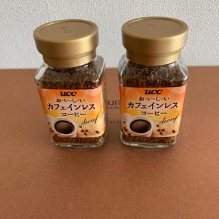 ユーシーシー(UCC)のカフェインレスコーヒー4個セット(コーヒー)