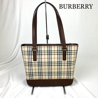 BURBERRY - 極美品 BURBERRY バーバリー ノバチェック トートバッグ