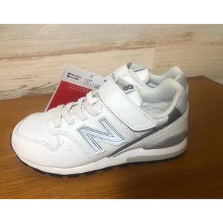 New Balance - 新品 19㎝ ニューバランス 996レザー  キッズスニーカー 白 ホワイト