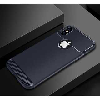 iPhonexr カバー ソフト ネイビー シンプル ケース アイフォン(iPhoneケース)