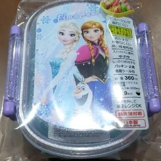 アナトユキノジョオウ(アナと雪の女王)の新品未使用 ふわっとフタタイトランチボックス アナ雪(弁当用品)