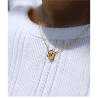 Enasoluna - エナソルーナLucky letter charm necklace  H ♪