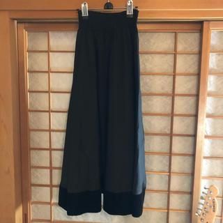 メリージェニー(merry jenny)の黒 ロングスカート(ロングスカート)