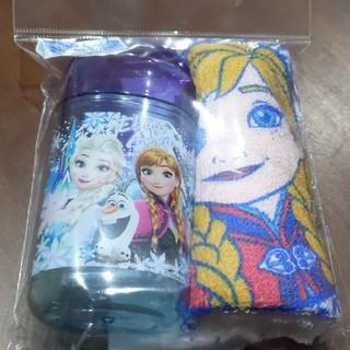 アナトユキノジョオウ(アナと雪の女王)の新品未使用 おしぼりセット アナと雪の女王 アナ雪(弁当用品)