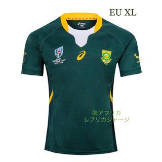 asics - 南アフリカ レプリカジャージ 海外XL EU ラグビー 2019