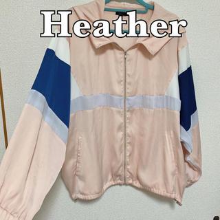 ヘザー(heather)のheather アウター(ブルゾン)