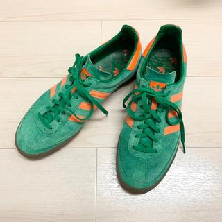 アディダス(adidas)のアディダス jeans ジーンズ 28cm グリーン オレンジ レア(スニーカー)