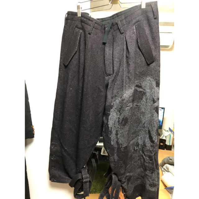 Yohji Yamamoto(ヨウジヤマモト)のヨウジヤマモト 19aw メンズのパンツ(ワークパンツ/カーゴパンツ)の商品写真