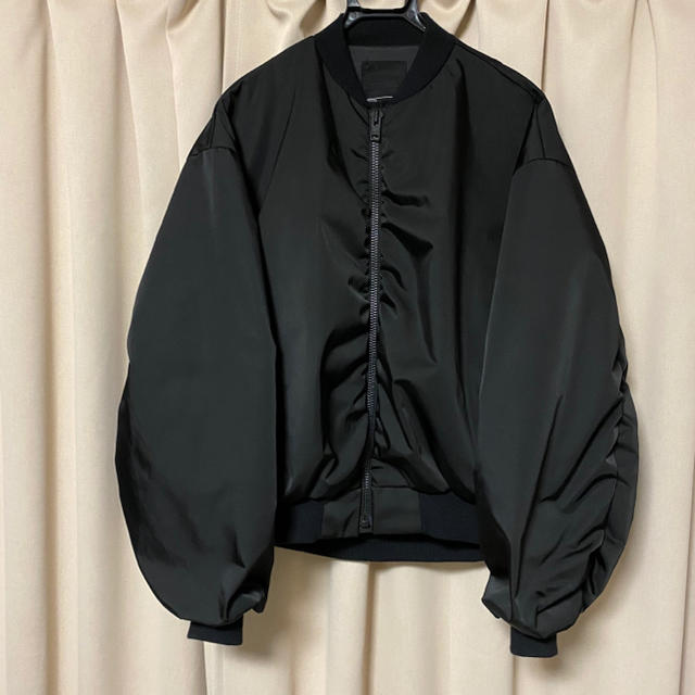 LAD MUSICIAN(ラッドミュージシャン)のlad musician ma-1 ブラック 42 メンズのジャケット/アウター(ブルゾン)の商品写真