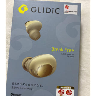 ソフトバンク(Softbank)のGLIDiC ワイヤレスイヤホン TW5000 ゴールド(ヘッドフォン/イヤフォン)