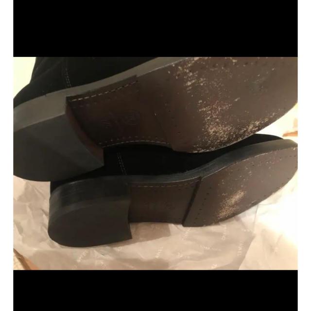 CHANEL(シャネル)のシャネル ロングブーツ 37 ベロア レディースの靴/シューズ(ブーツ)の商品写真